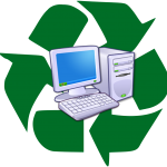 Logo recyclage ordinateurs